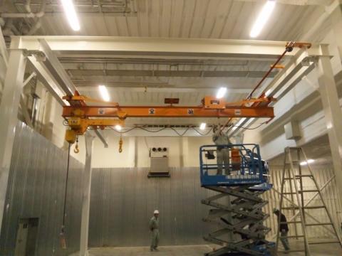 藤原電機製作所 クレーンの法令点検・突発修理サービス・荷役・揚重作業の合理化・省力化提案・クレーン製作・据付